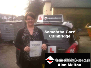 Intensive driving courses Cambridge, one week driving courses Cambridge, Driving lessons Cambridge