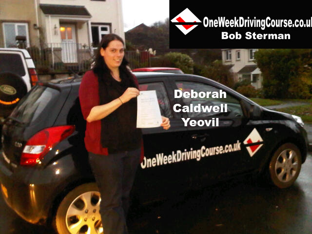 Intensive driving courses Yeovil, Bath, One week driving courses Yeovil, Bath, Driving lessons Yeovil, Bath